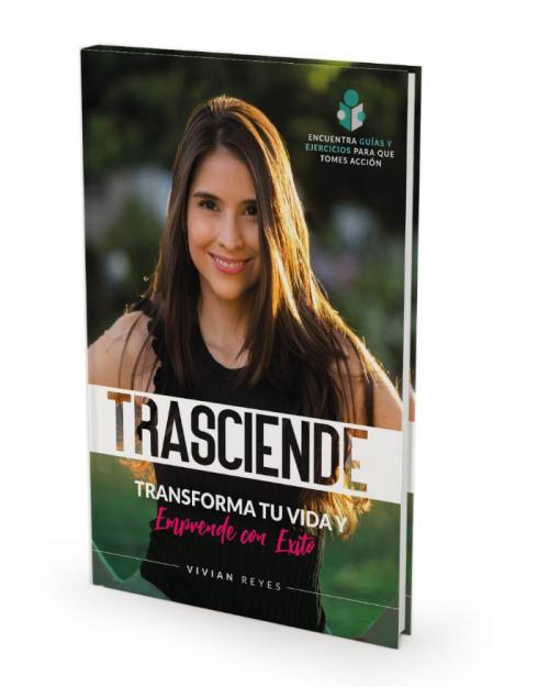 Libro Trasciende por Vivian Reyes